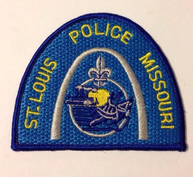 St Louis Metropolitan Police Patch Police Patches Police Police Department