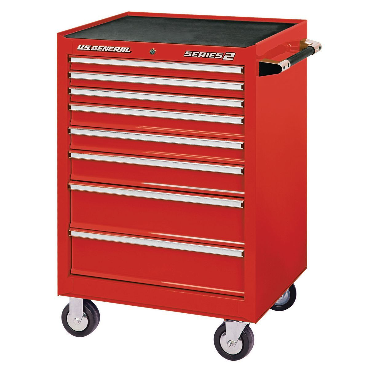 26 In X 22 In Single Bank Red Roller Cabinet Rolling Tool Box