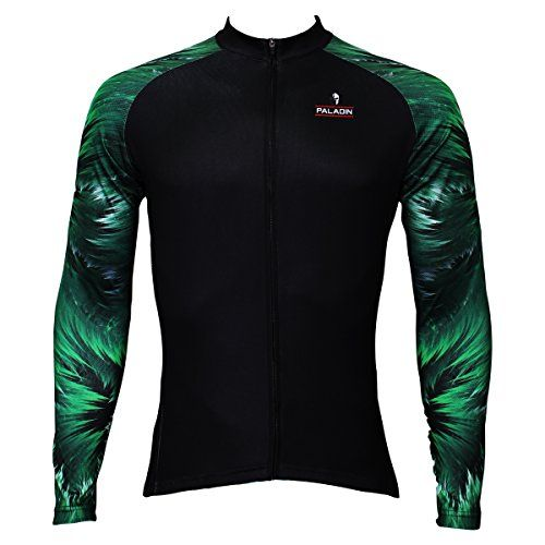 4ca75ee9a Paladin Mens Wooden Arms Design Long Sleeve Cycling Jersey Size XL -- Check  out the image by visiting the link.Note It is affiliate link to Amazon.