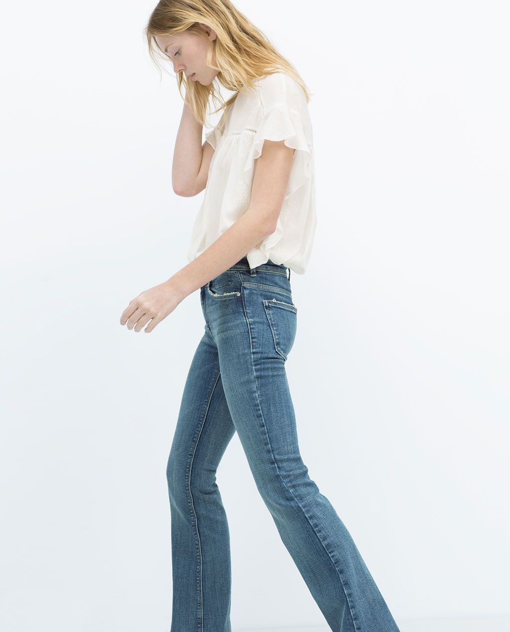 ZARA - WOMAN - FLARED JEANS