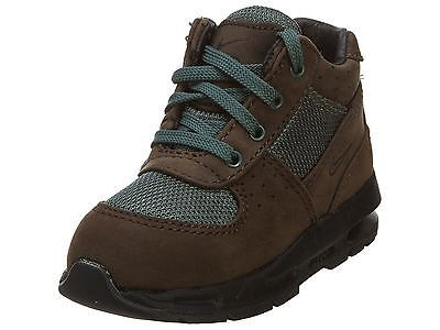 NIKE AIR MAX GOADOME TD TODDLER 311569-225 Brown Blue Boots Shoes Baby Size  6