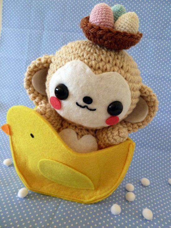 motleycraft-o-rama:  Cute Amigurumi  Oh my goodness! Totes adorable! :)