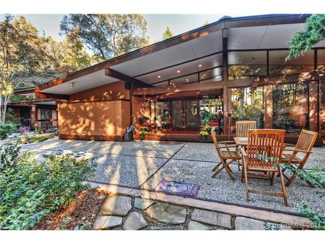 Beautiful Mid Century Modern home for sale in Charlotte, NC | Mid ...