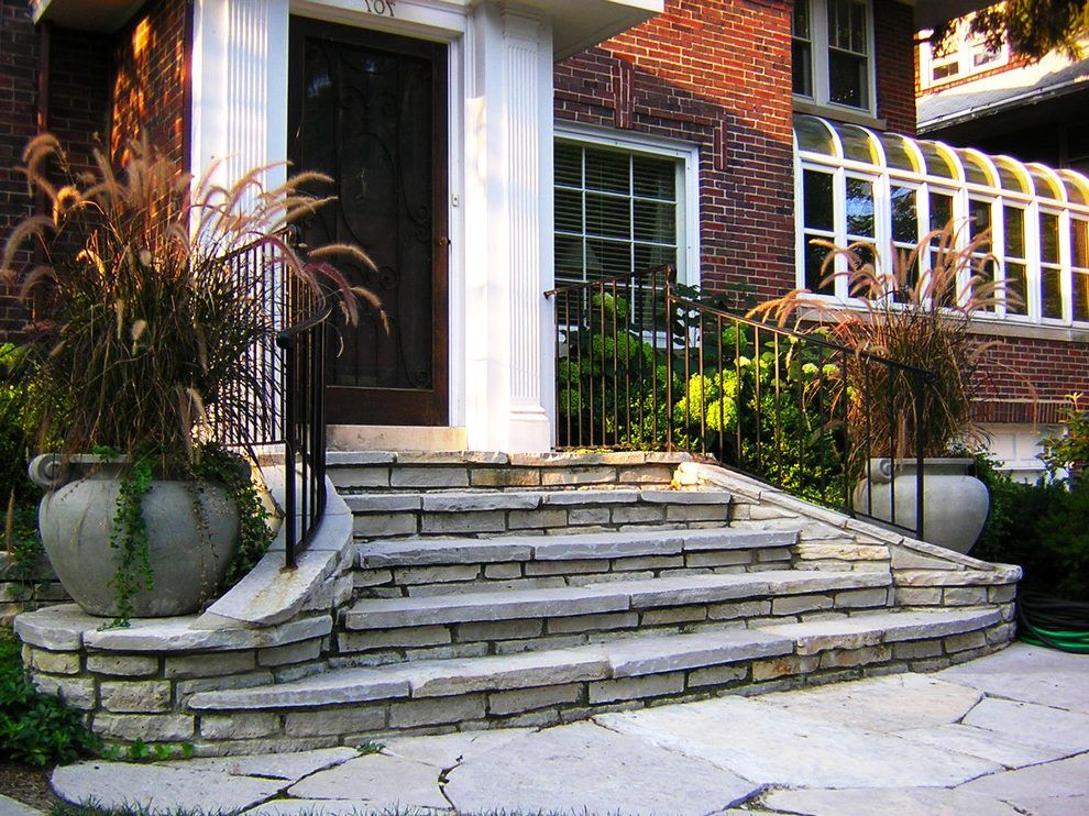 Gentil Simple Ideas Front Door Steps Ideas Excellent Front Entry Traditional With  Spider Web Window .