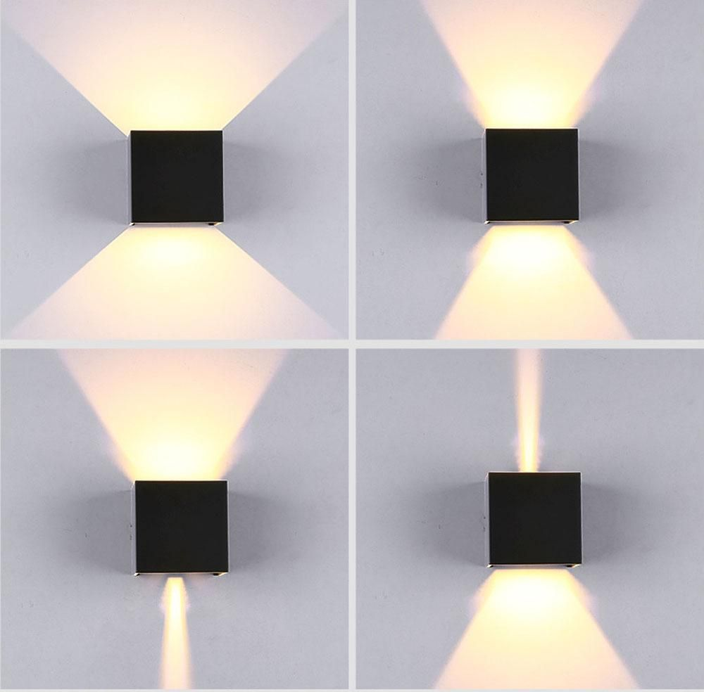 Ip65 Cube Adjule Surface Mounted Outdoor Led Lighting Wall Light Up Down L Icon2 Luxury Designer Fixures