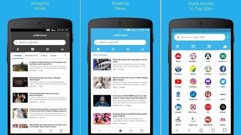 Reliance Jio Launches JioBrowser; A New Tool To Make Your