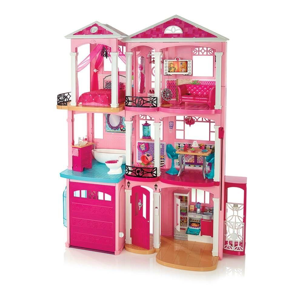 Casa De Barbie Juegos Casas Di Barbies Dreamhouse Play Set Doll Futniture Girl