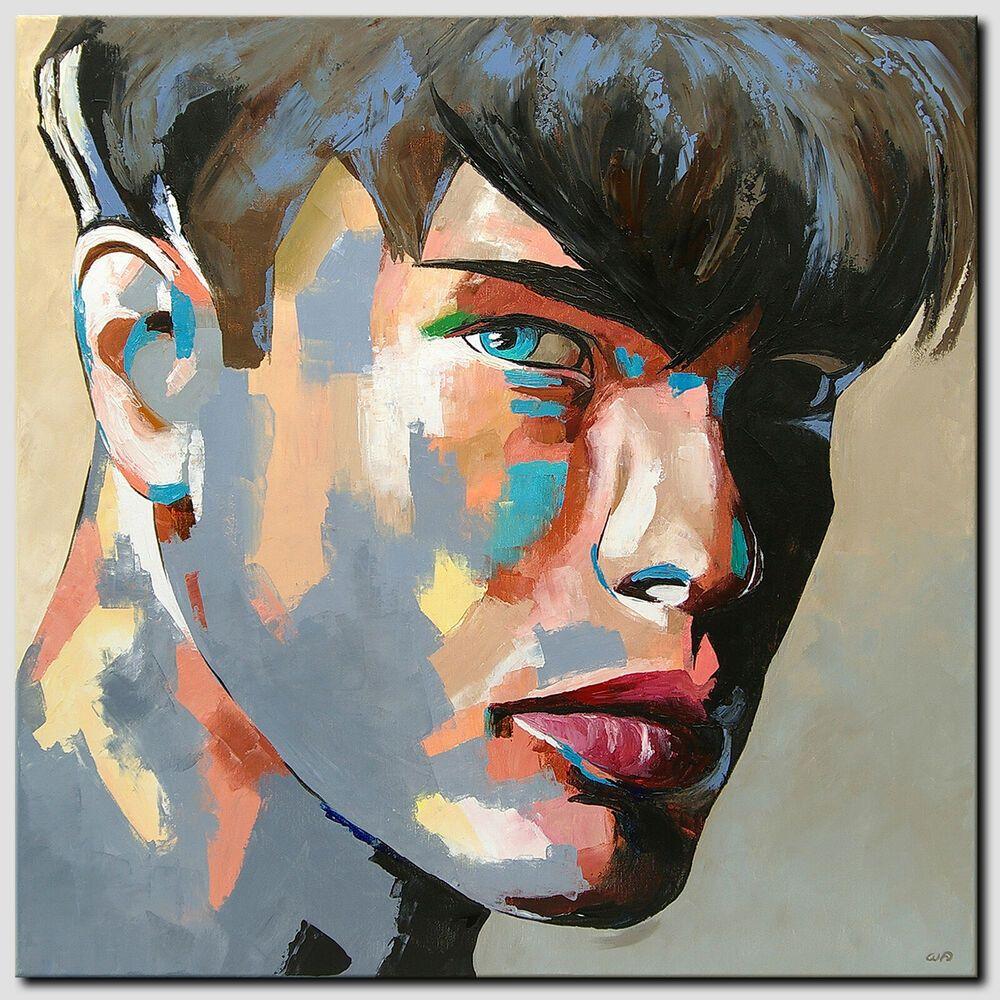 novaarte acryl gemalde abstrakte malerei kunst bilder modern junge mann original acrylmalerei kinder bunte
