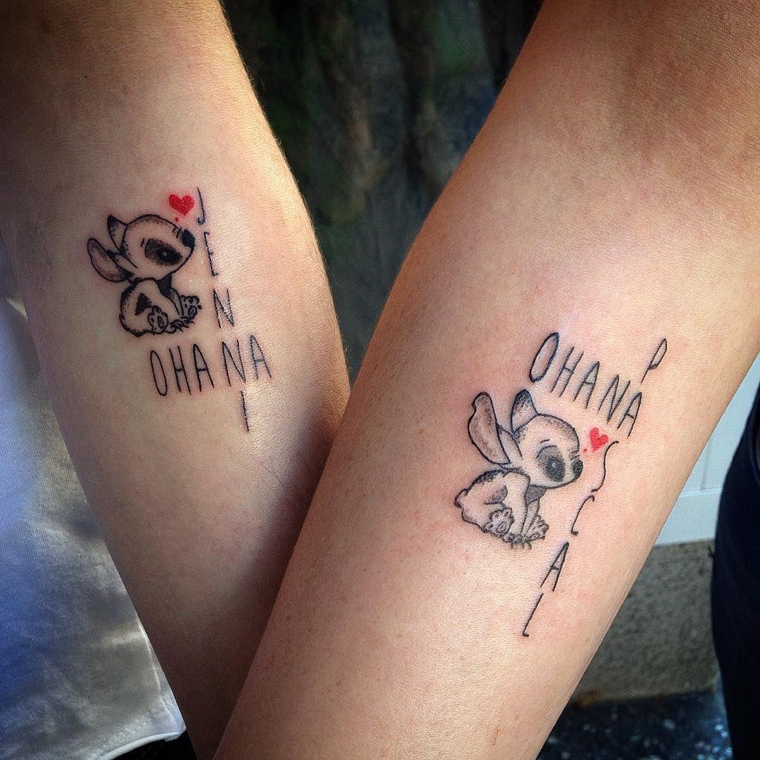 30 Delightful Ohana Tattoo Designs No One Gets Left Behind