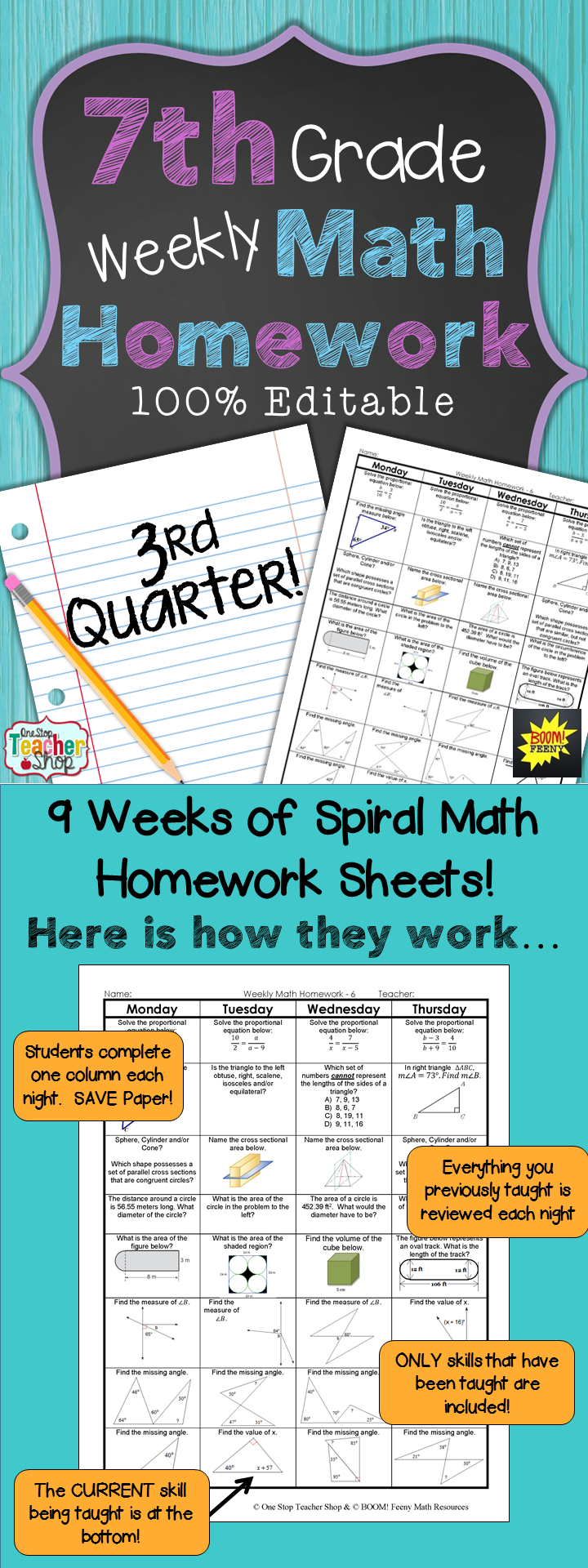 medium resolution of 7th Grade Homework Helper –