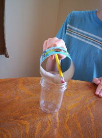Almost Unschoolers: Penny Drop Experiment - Newton's First Law of Motion For Kids