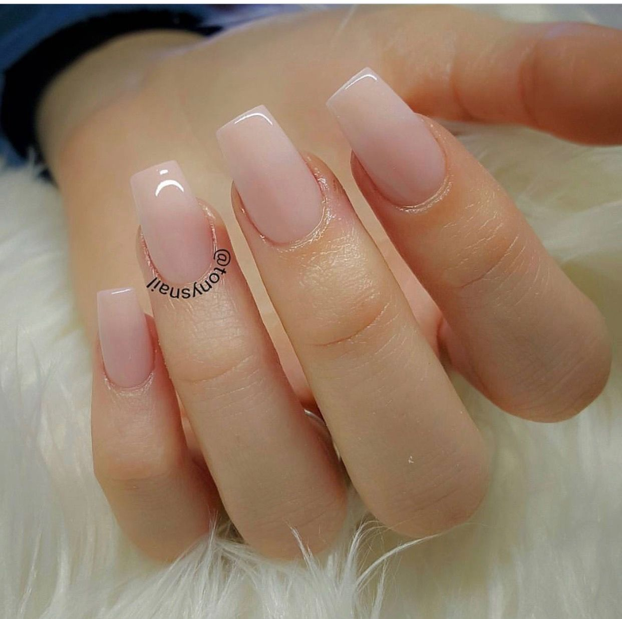 Simple And Beautiful Gel Nails Pretty Nails Natural Acrylic Nails,Luxury Log Cabin Interior Design