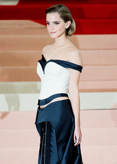 """emmacdwatson """" Emma Watson at the Manus x Machina"""