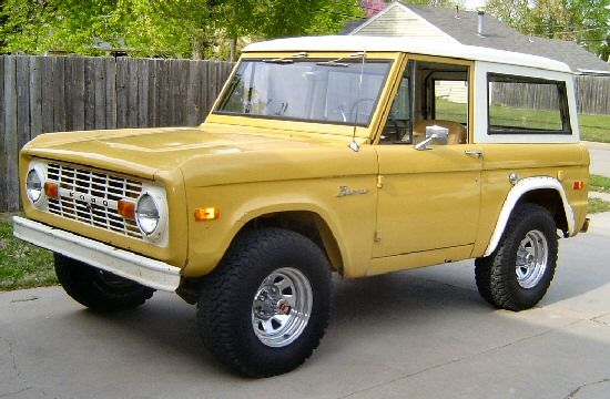 Lars Is A Great Car But I Ve Always Wanted This Ford Bronco