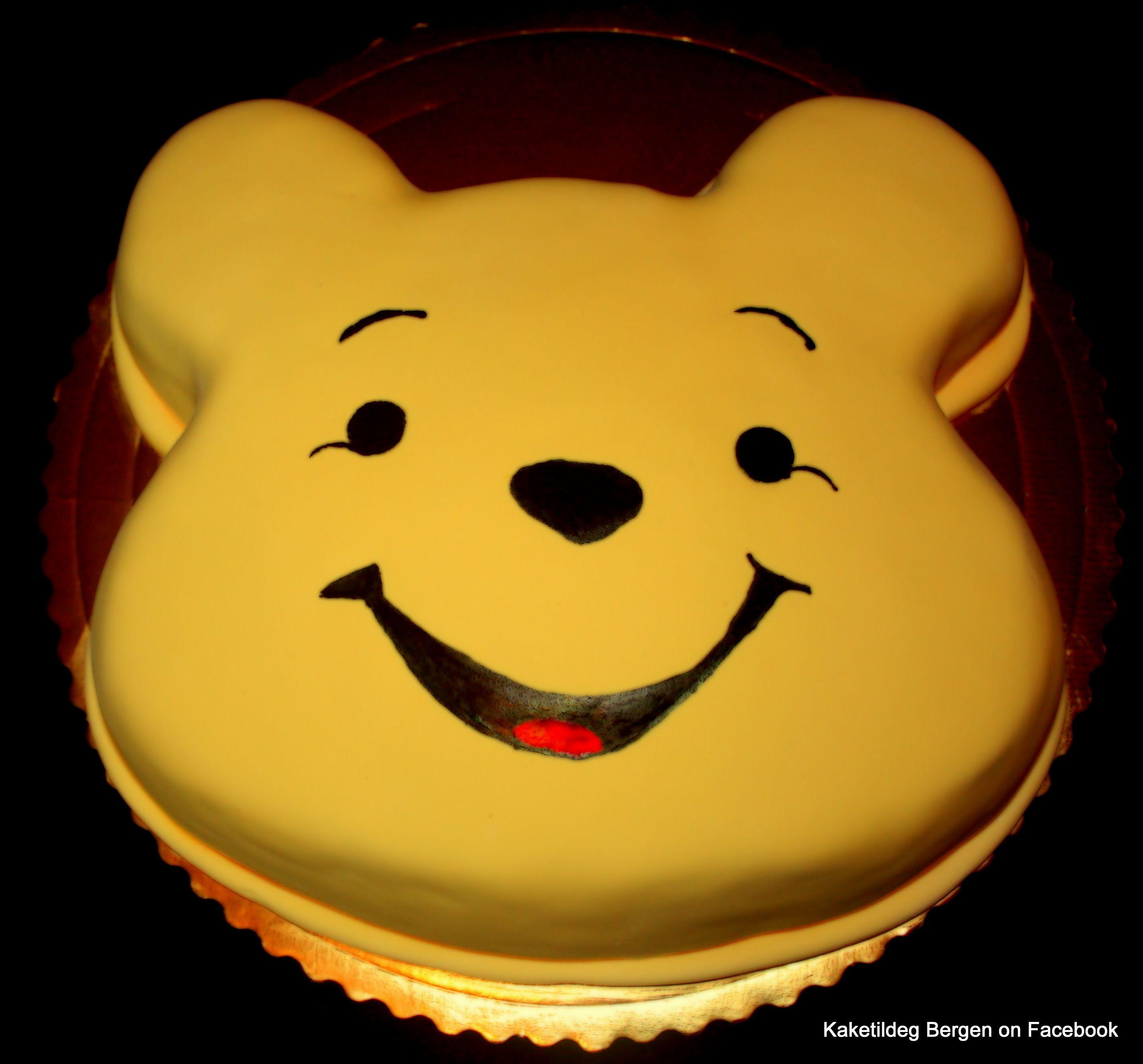 winnie the pooh head shape cake food i will eventually make