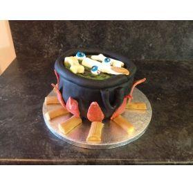 Réalisez un gâteau pour Halloween : Marianne