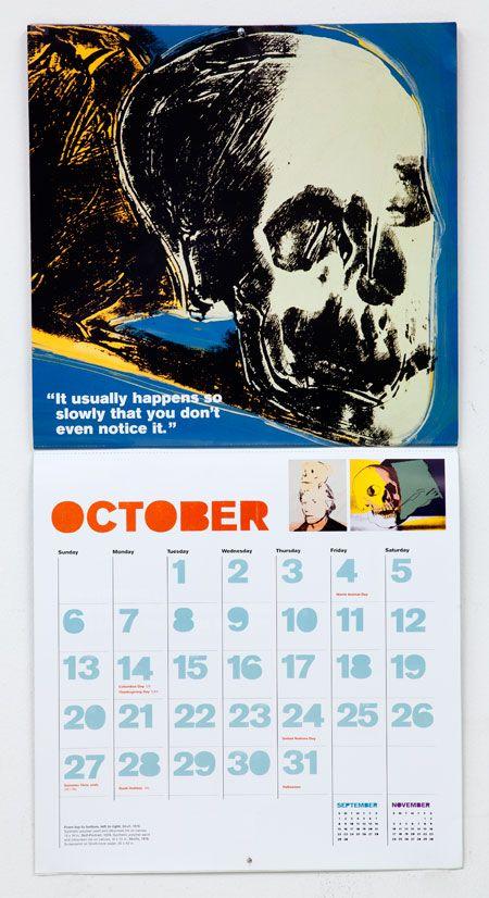 The Art of Andy Warhol 2013 Calendar