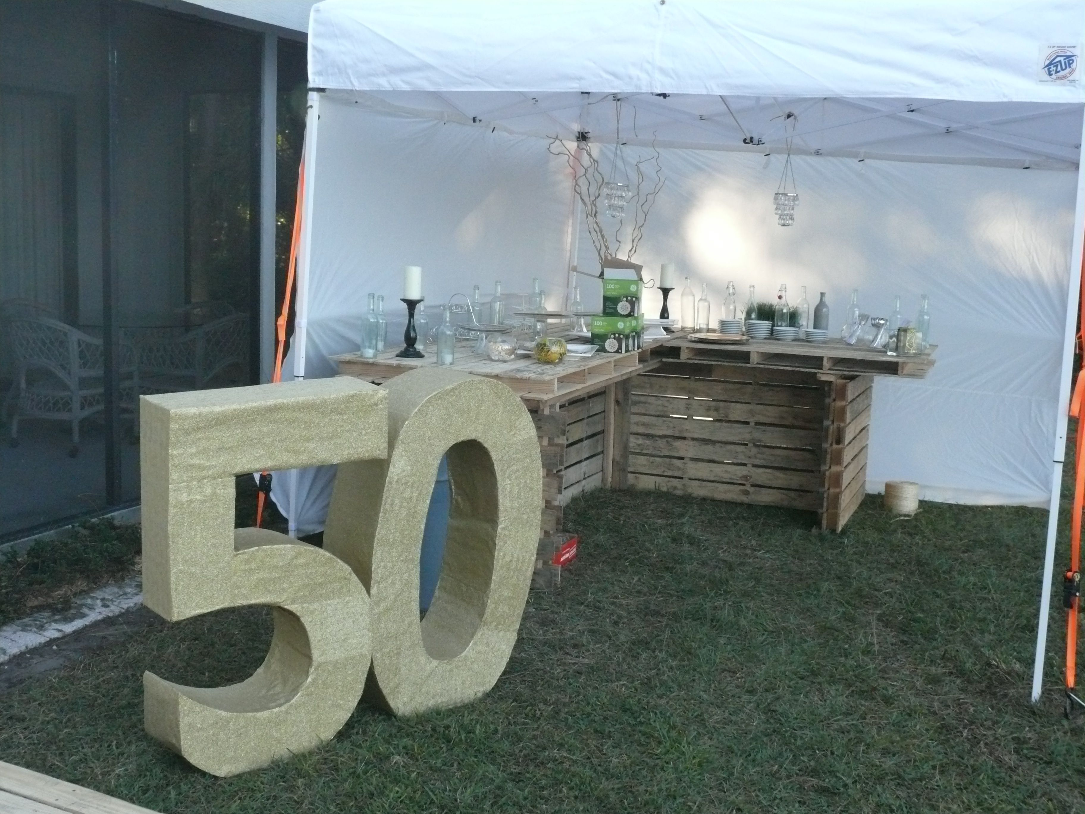 Bar Made Out Of Pallets 50 Made Out Of Cardboard And Wrapping Paper And A Dessert Bar Made
