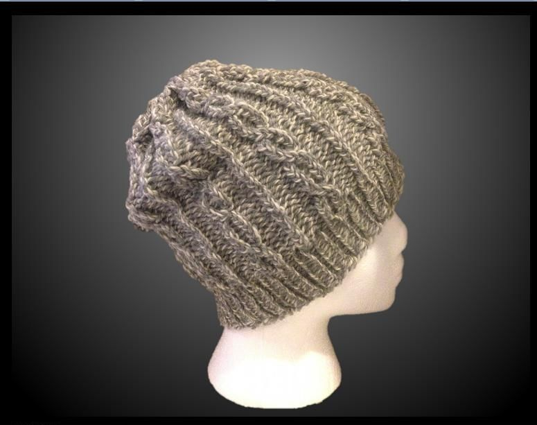 cabled hat with a knitting loom | knitting and crochet | Pinterest ...