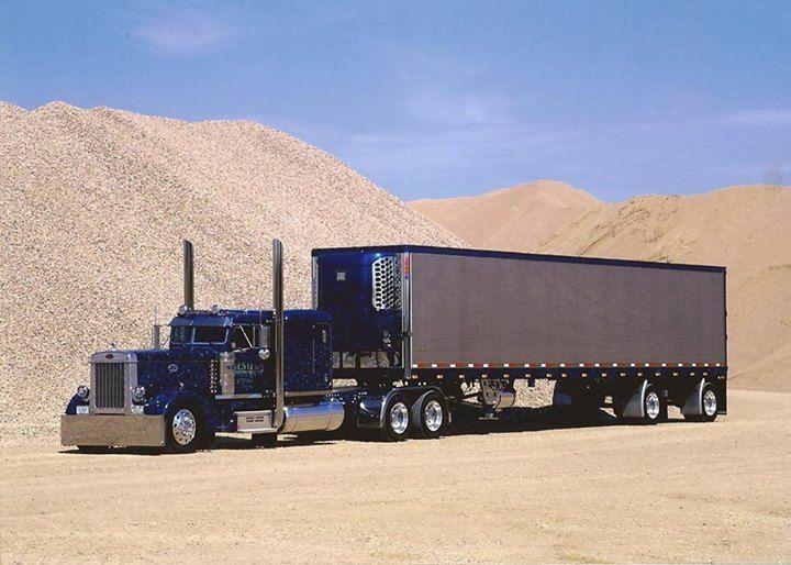 Western Distributing Transportation Corp Peterbilt Trucks Trucks Big Trucks
