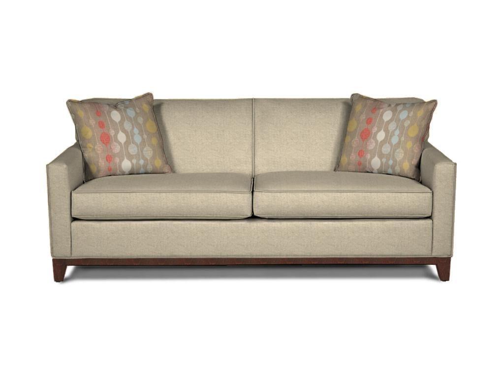 Rowe Martin Sofa Body 1149 10832 75 Pillows 1217 30179 Finish Cherry