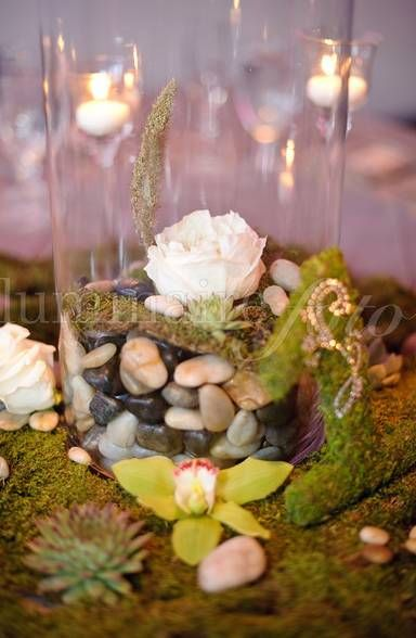 Mossy table numbers centerpieces green nature wedding succulent mossy table numbers centerpieces green nature wedding succulent junglespirit Image collections