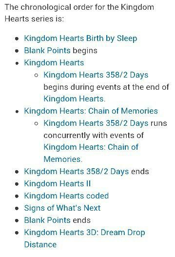 Kingdom Hearts story line order . i dont care how you explain it it still confusing