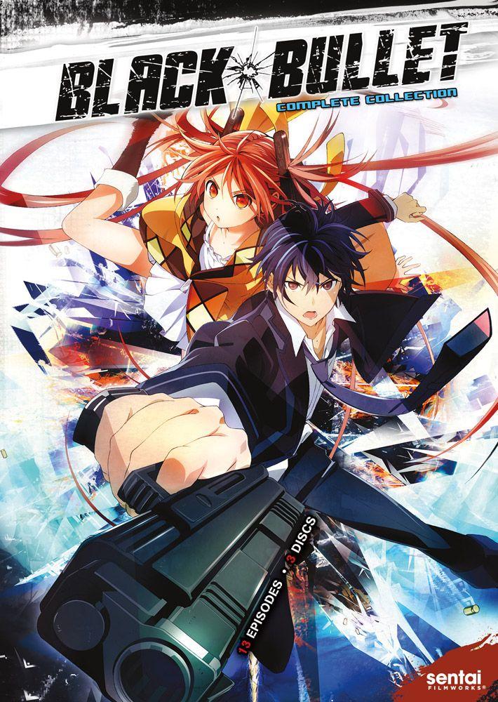 Black Bullet DVD (With images) Black bullet, Anime