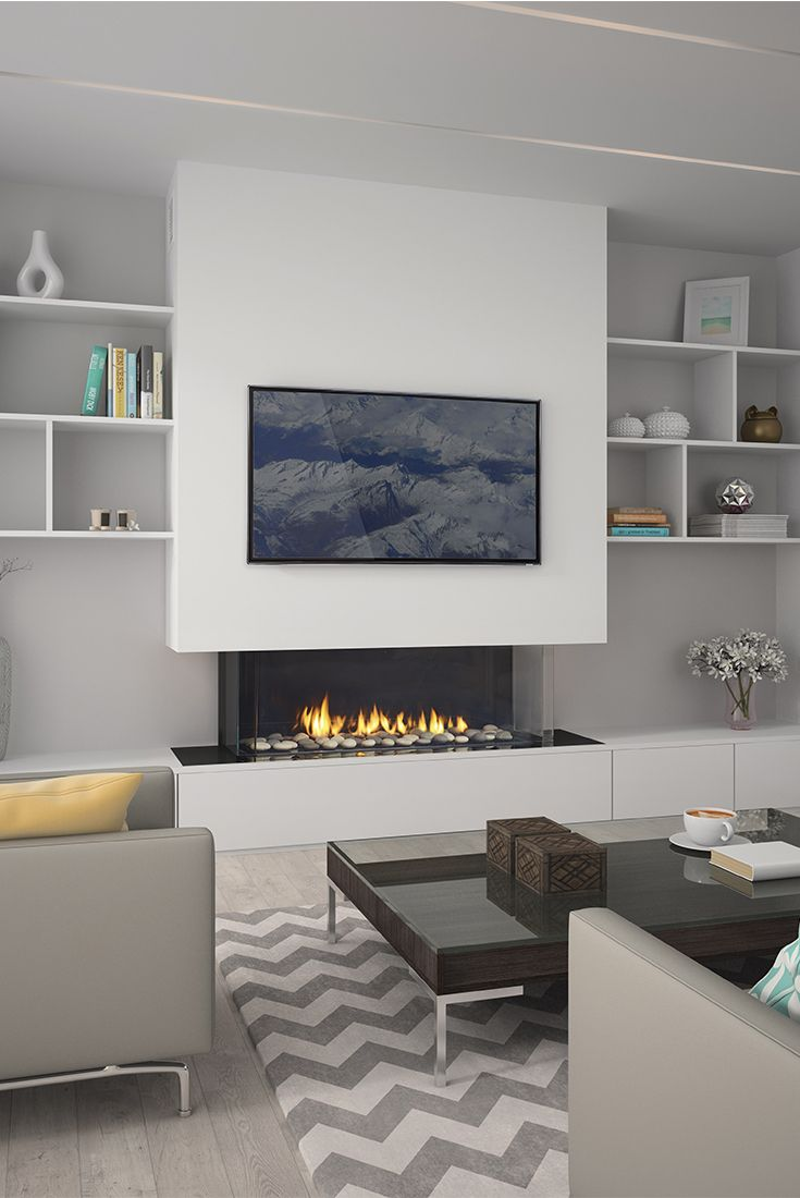 Meet The Regency City Series San Francisco Bay 40 Features Zero Clearances To Tv Or Artwork Livingroom Layout Living Room Tv Wall Living Room With Fireplace