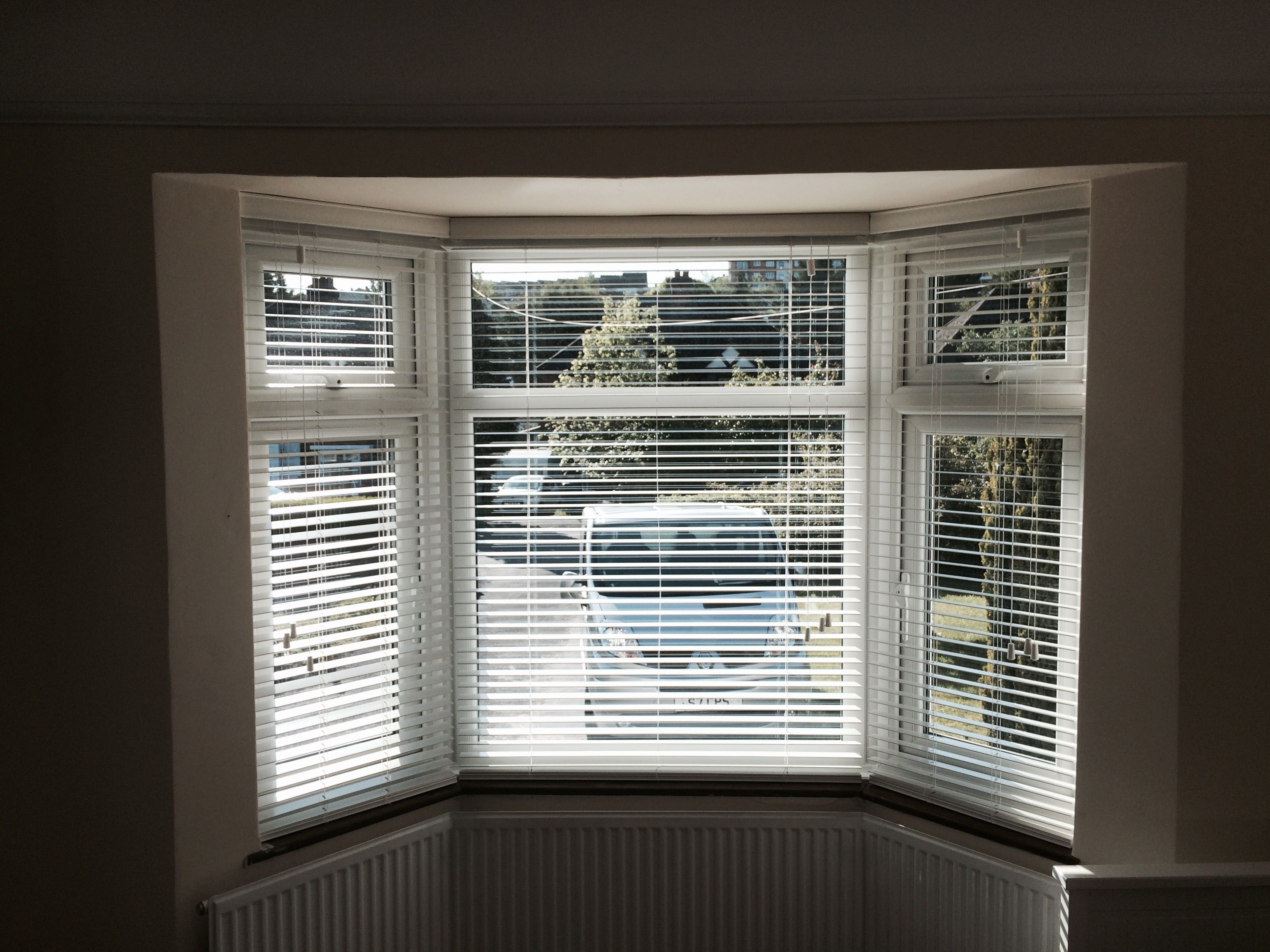 Bay Window Venetian Blinds By Think Blinds