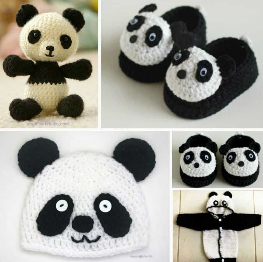 Super Cute Panda Crochet Patterns You Will Love | Pinterest ...
