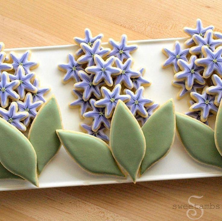 Frosted Cookiez auf Instagram Hyacinth Cookies SweetAmbs Frosted Cookiez auf Instagram Hyacinth Cookies SweetAmbs