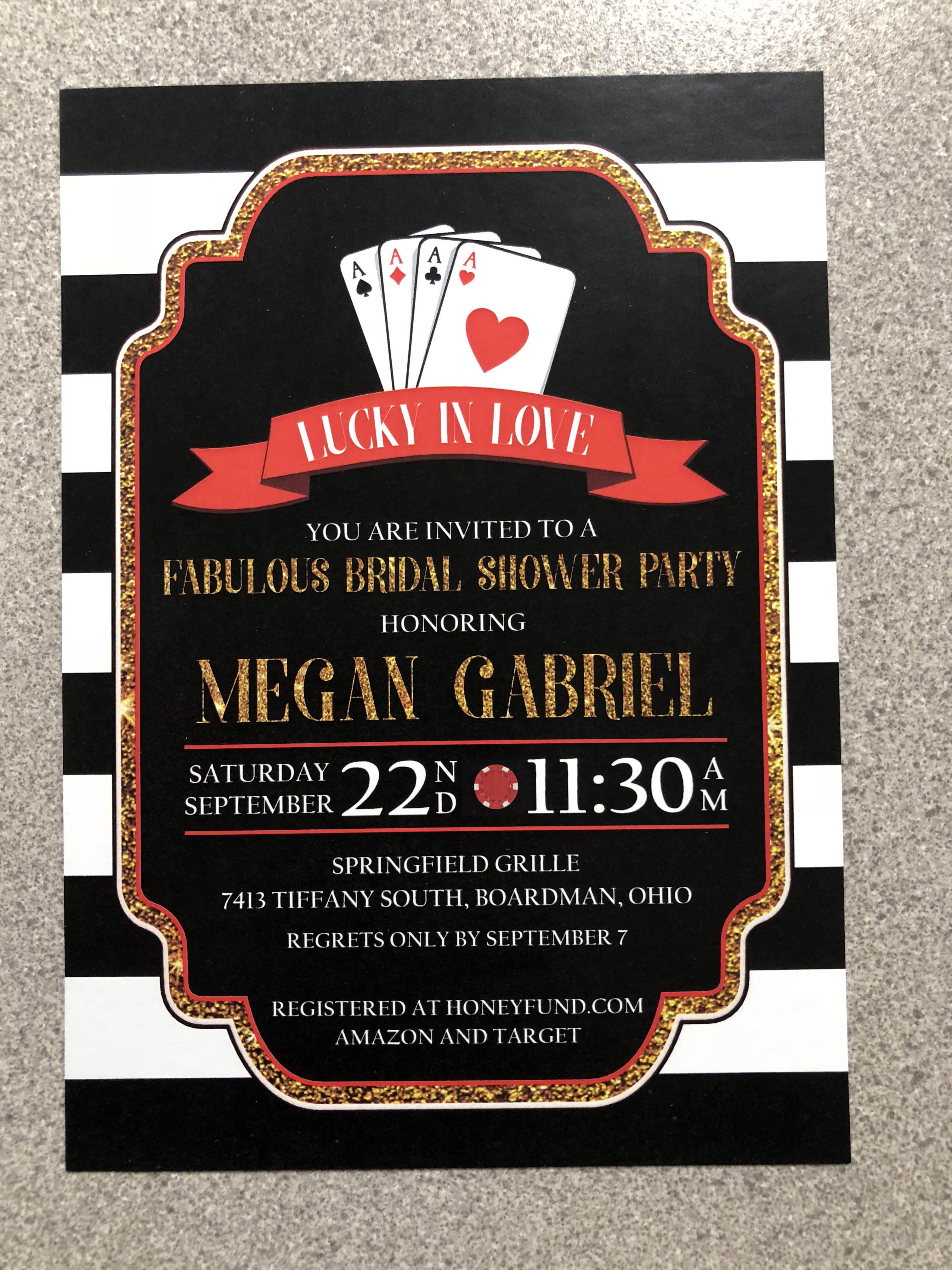 custom bridal shower invitation from boardman printing bridal shower invitations bridal showers bachelorette