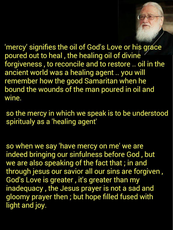 Mercy Kallistos Ware Orthodox Prayers Jesus Prayer Divine Mercy