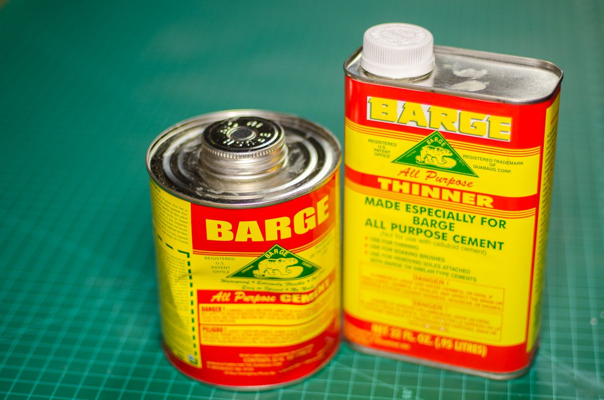 Medium Of Barge Contact Cement