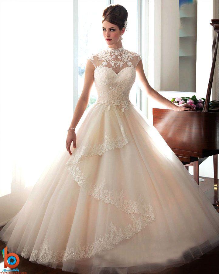 فساتن زفاف جميلة