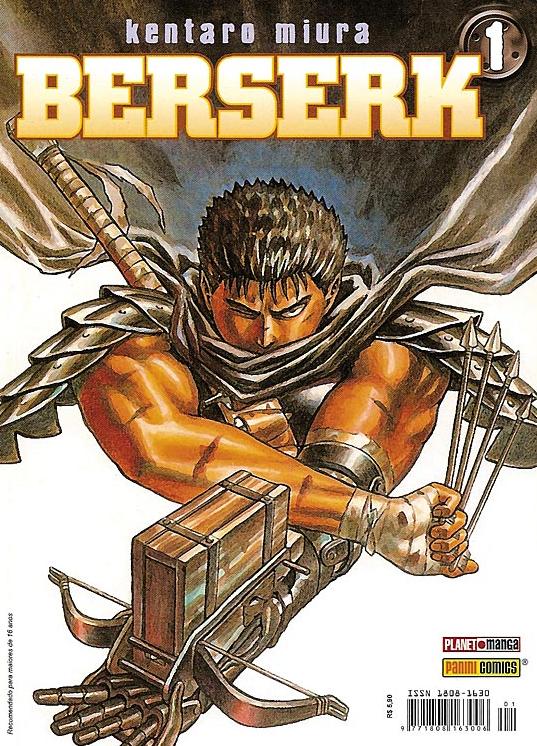 LIGA HQ - COMIC SHOP BERSERK (NOVA EDIÇÃO) #1 - Berserk - Mangá PARA OS NOSSOS HERÓIS NÃO HÁ DISTÂNCIA!!!