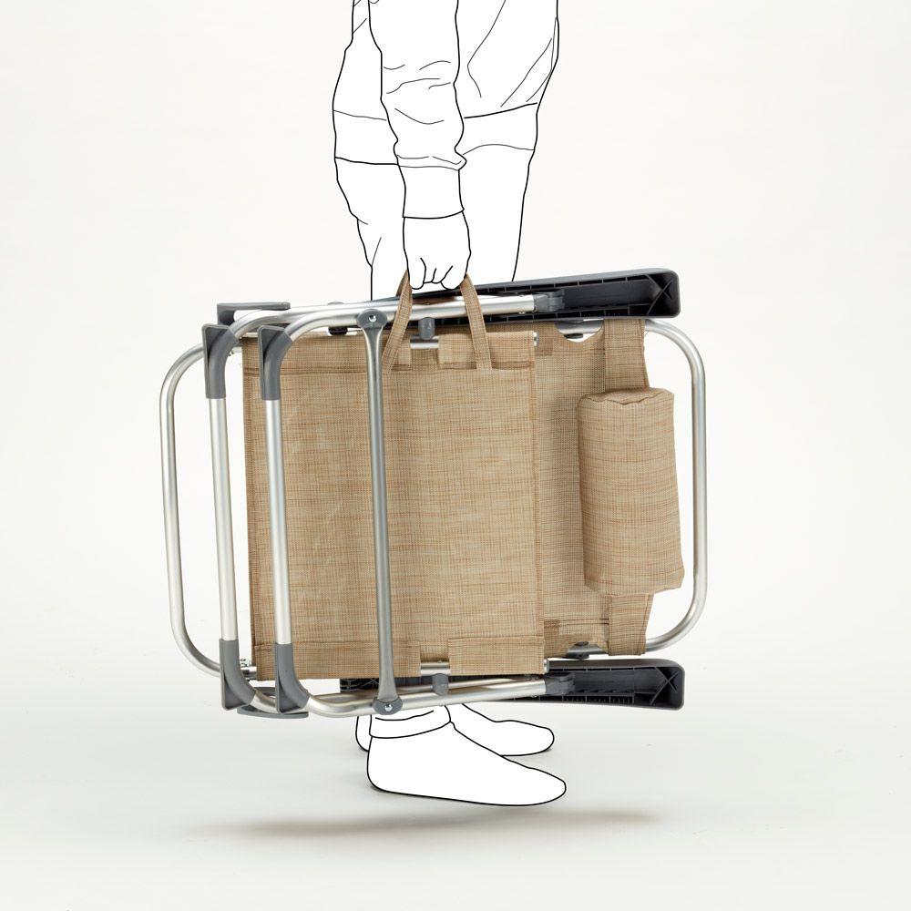 Sedia A Sdraio Alluminio.Sedia Sdraio Spiaggina Con Braccioli Mare Alluminio Pieghevole