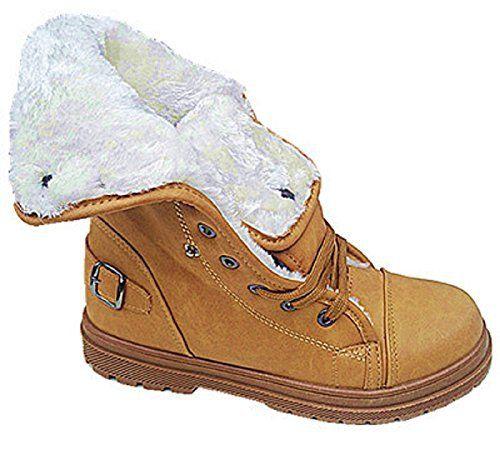 Bottines Fourrure Boots Montante Fourrée Femme Mode Baskets Fille IDW2Y9ebEH