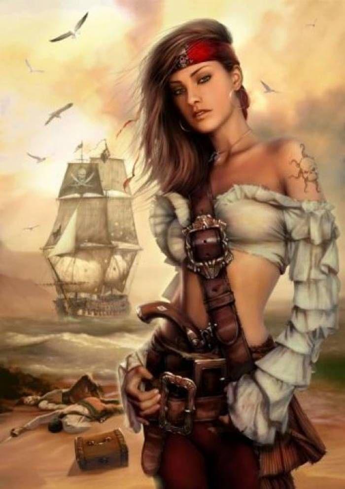 Anne Dieu-le-veut : dieu-le-veut, Famous, Pirate, Girls, 항해,, 소녀,, 해적
