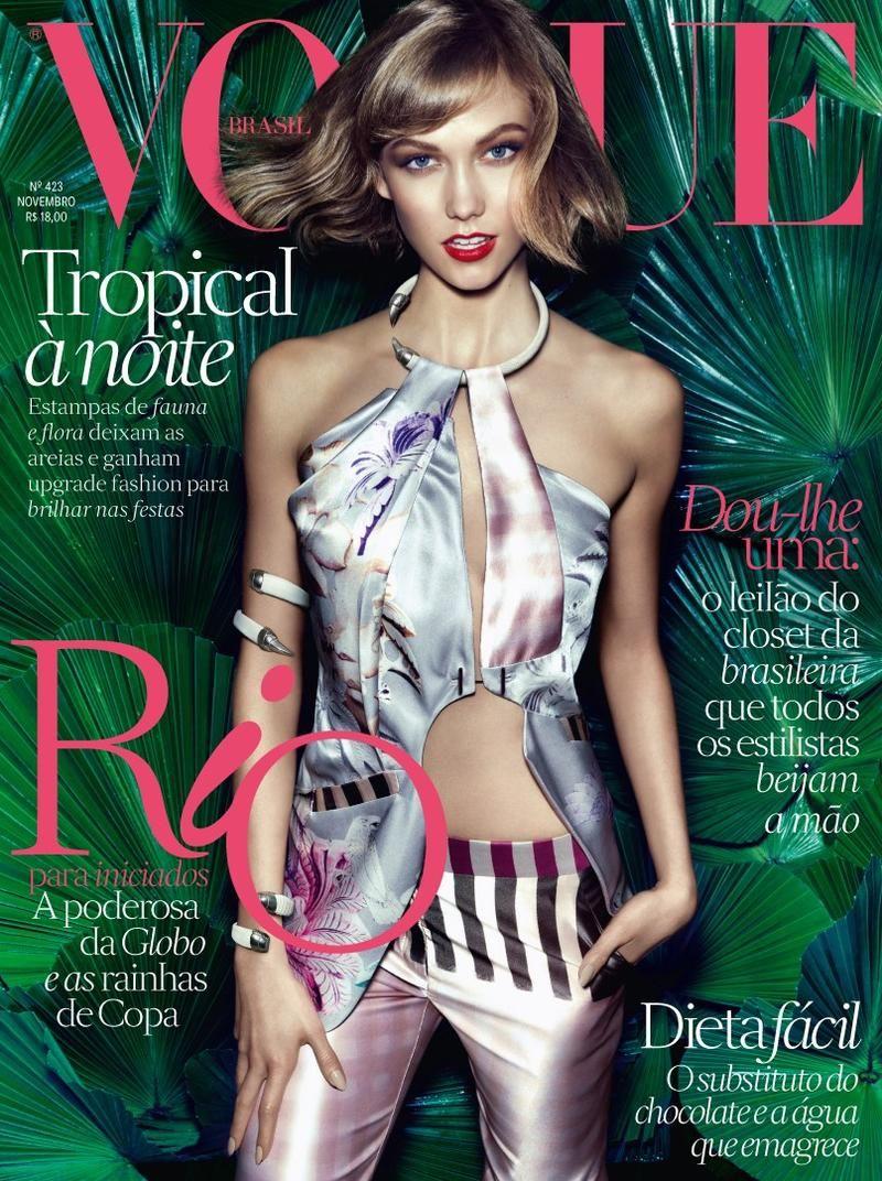 Vogue Brasil November 2013   Karlie Kloss   Henrique Gendre
