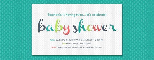 Baby Shower Evite Baby Shower Ideas Pinterest