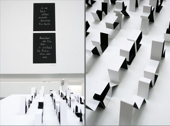 Folding Paper Typography