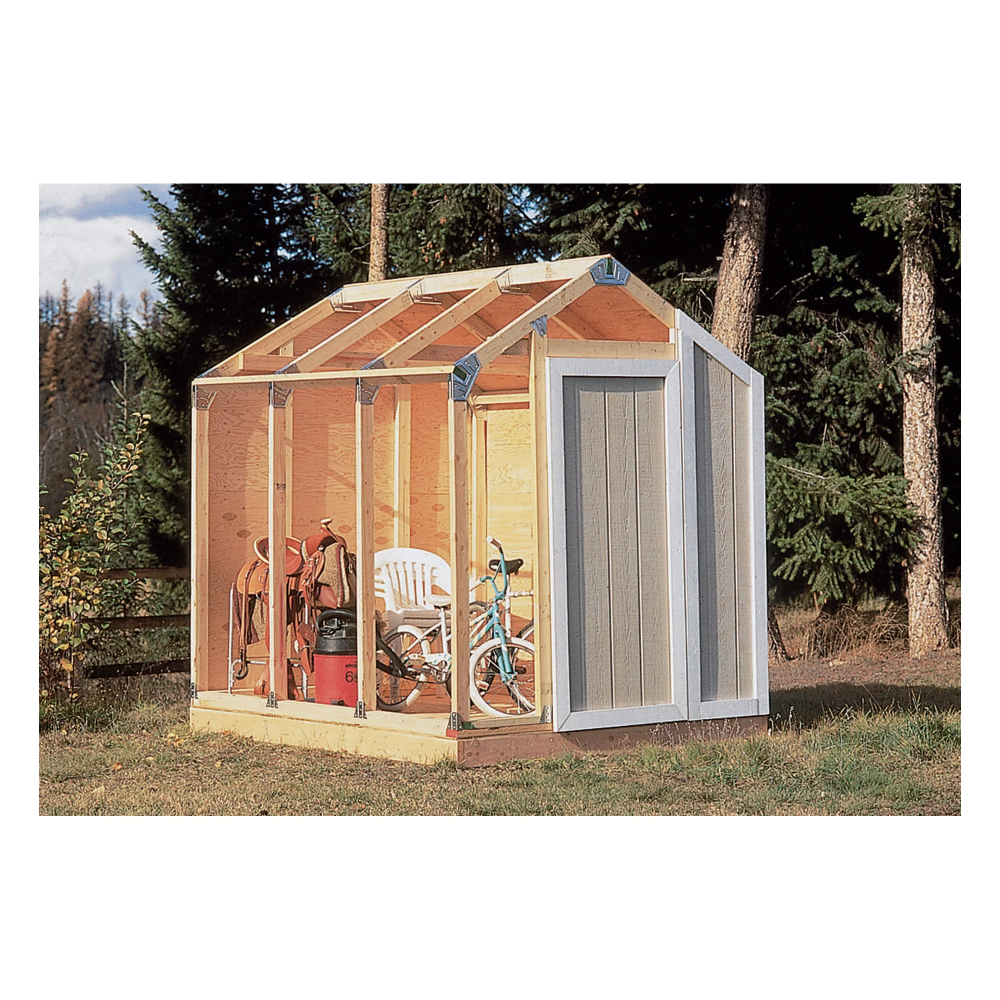 Fast Framer Universal Storage Shed Framing Kit Universal Roof In 2020 Garden Storage Shed Diy Shed Plans Shed Frame