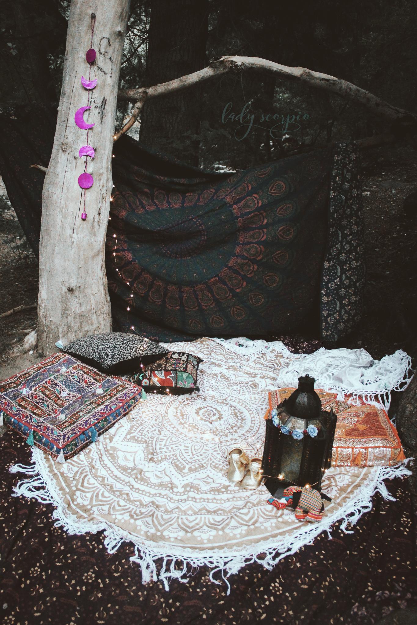 Boho bungalow lady scorpio tapestries u moon phase decor u blog