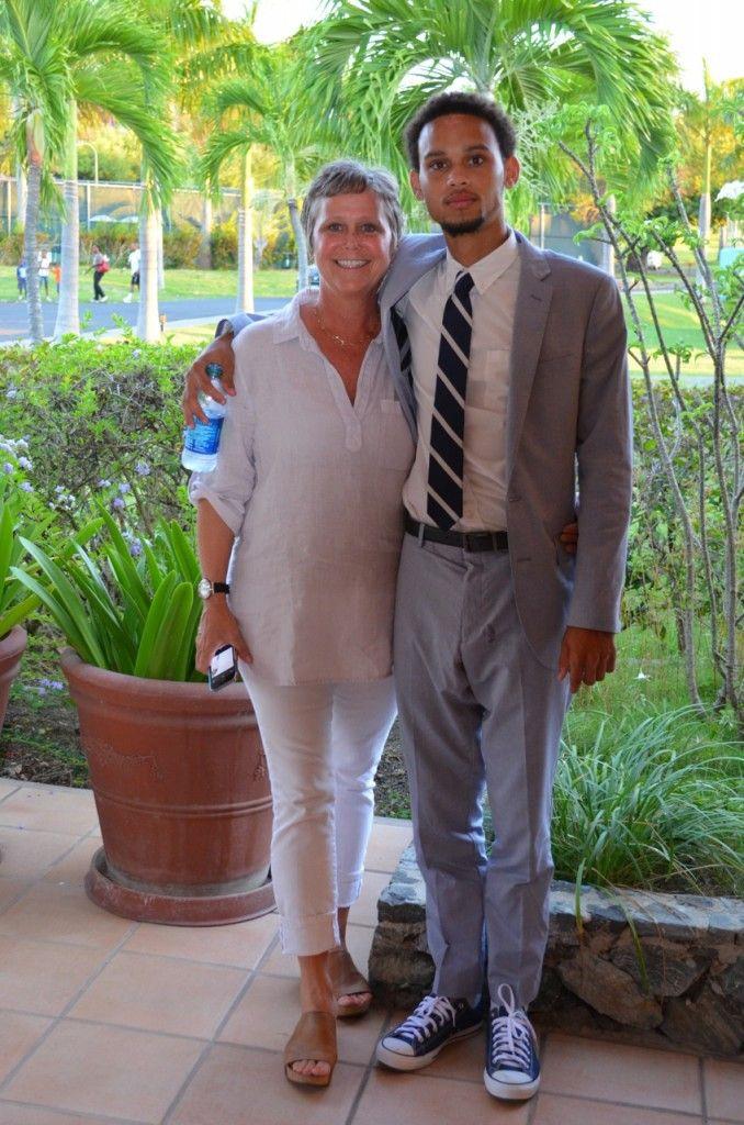 Kris & Kenan at Kenan's prom!