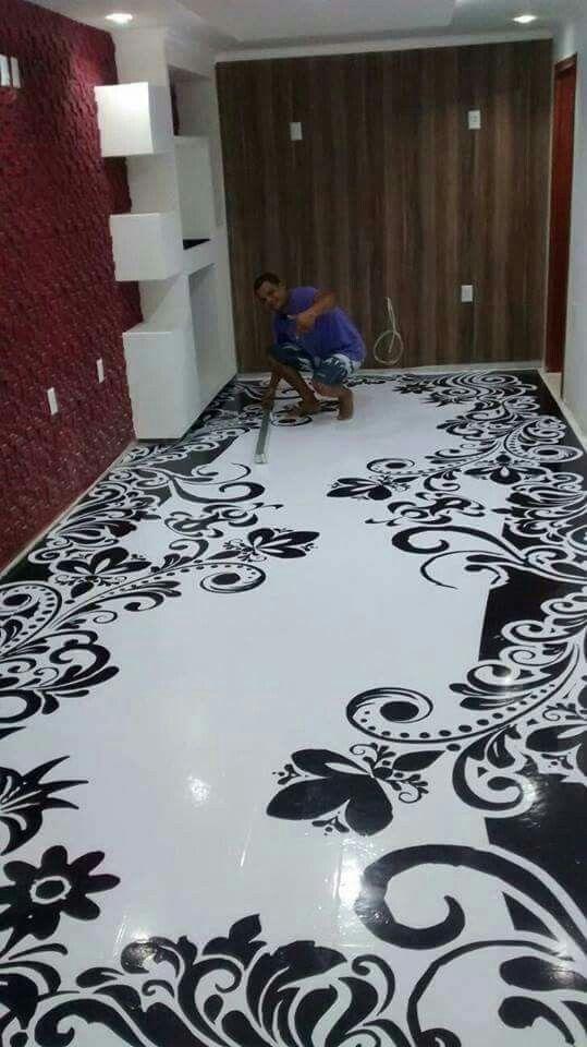 Epoxy Paintings In Bathrooms : Love this flooring interior design pinterest epoxy
