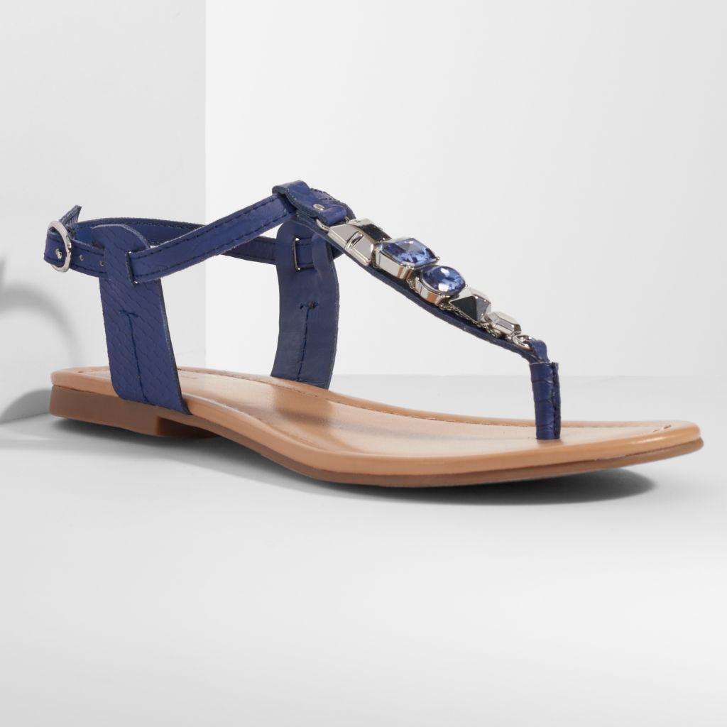 05c9bba5dc5 Simply Vera Vera Wang Women s Thong Flat Sandals