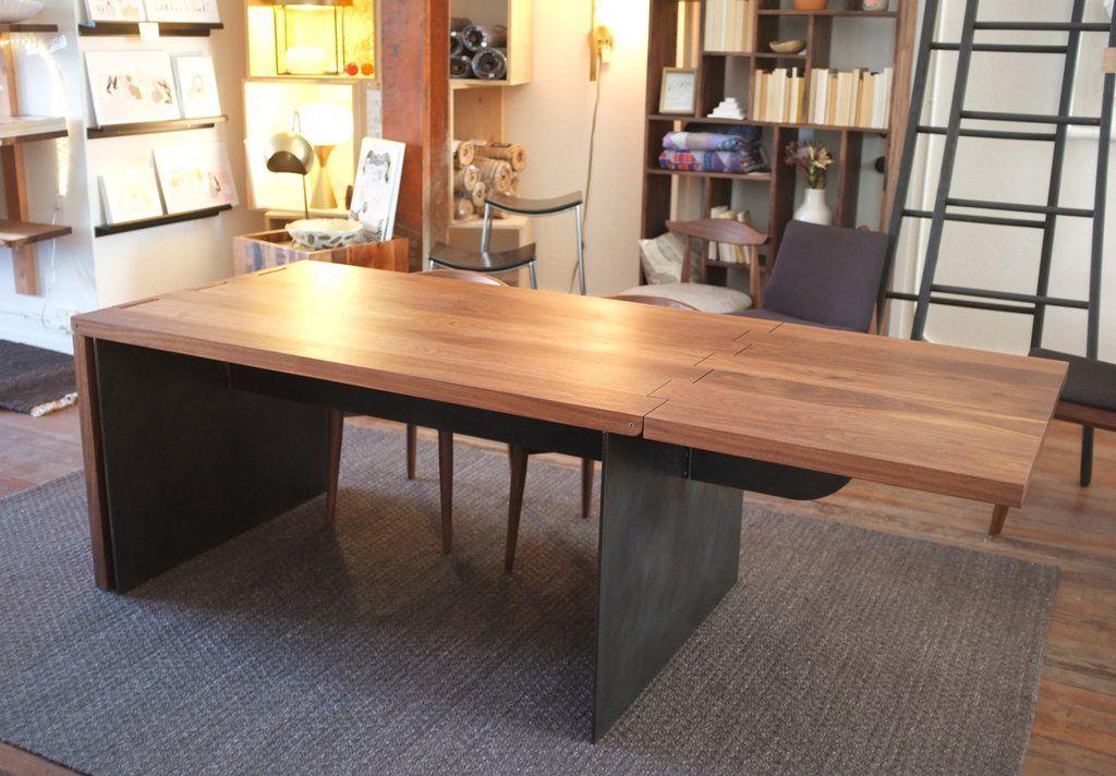Hinge Extension Dining Table Diningroomideasdiy
