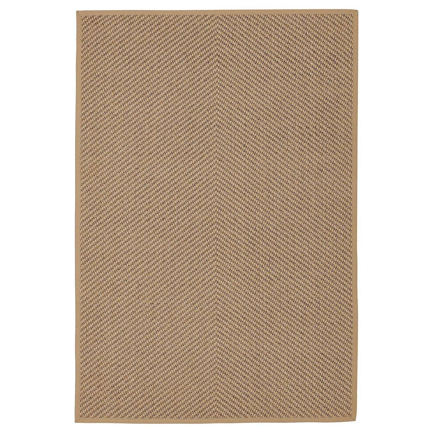 Ikea Hellested Rug Flatwoven Natural